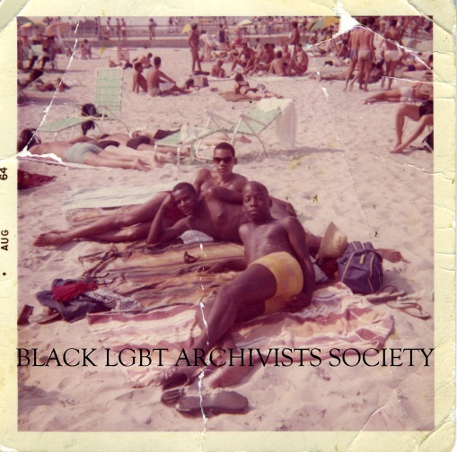 Black Gay Youth at Beach, Aug 1964